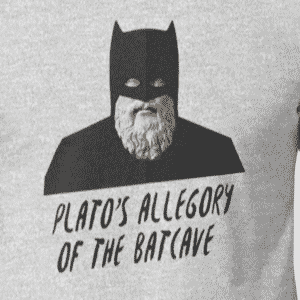 Plato's Allegory Of The Batcave - Philosophy Shirt