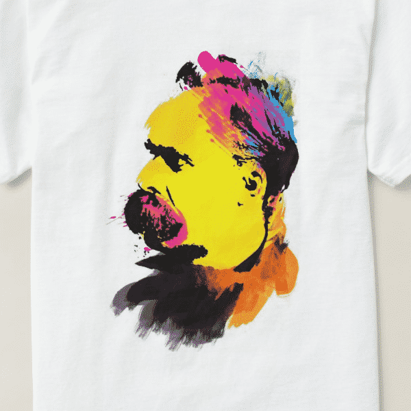 Related Design: Colorful Nietzsche