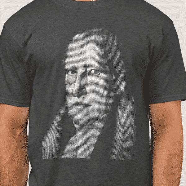 Hegel Portrait - Philosophy Shirt